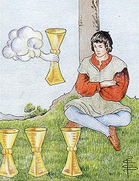 Tarot - IV of Cups