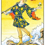 The Fool Tarot Card Meanings (Abstract)