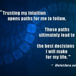 Inspirational Quote: Intuition Affirmation
