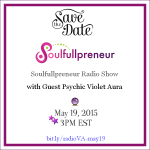 Event – Violet Aura Discusses Paranormal Aura Reading