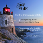 Event – Interpreting Auras with Guest Psychic Violet Aura