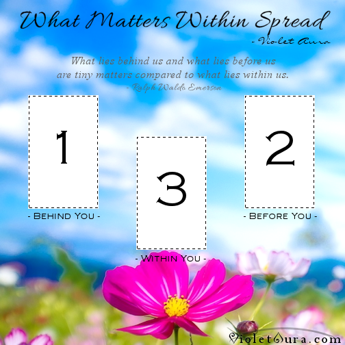 what matters within tarot card spread