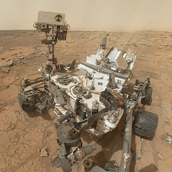 Photo © NASA - Curiosity has greater purpose.