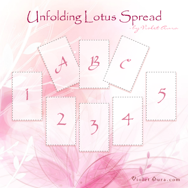 Unfolding Lotus Tarot Spread