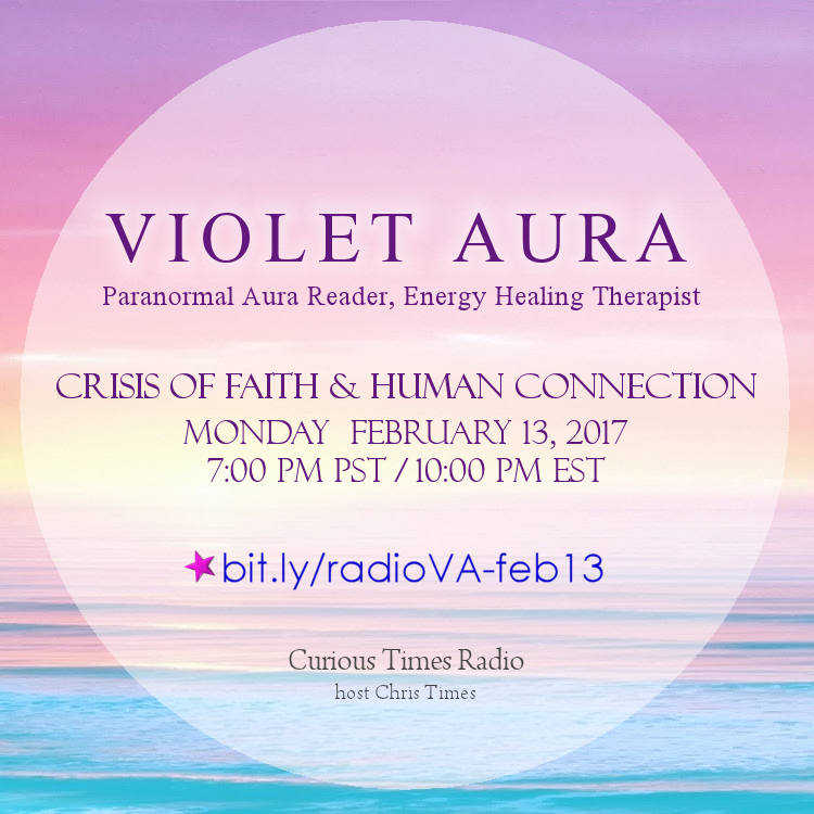 crisis of faith human connection violet aura