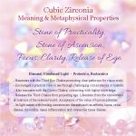 Cubic Zirconia Meaning and Properties for Healing