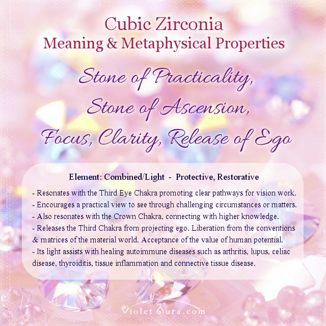 cubic zirconia meaning properties metaphysical