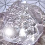 rough cubic zirconia crystal