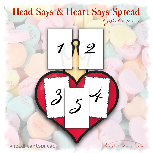 head and heart says pread